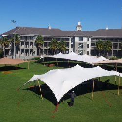 Stretch tents corporate event