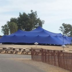 Stretch tent large Blue