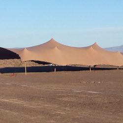 stretch tent desert