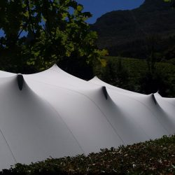 Stretch tent White large