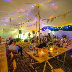 stretch tent wedding tent