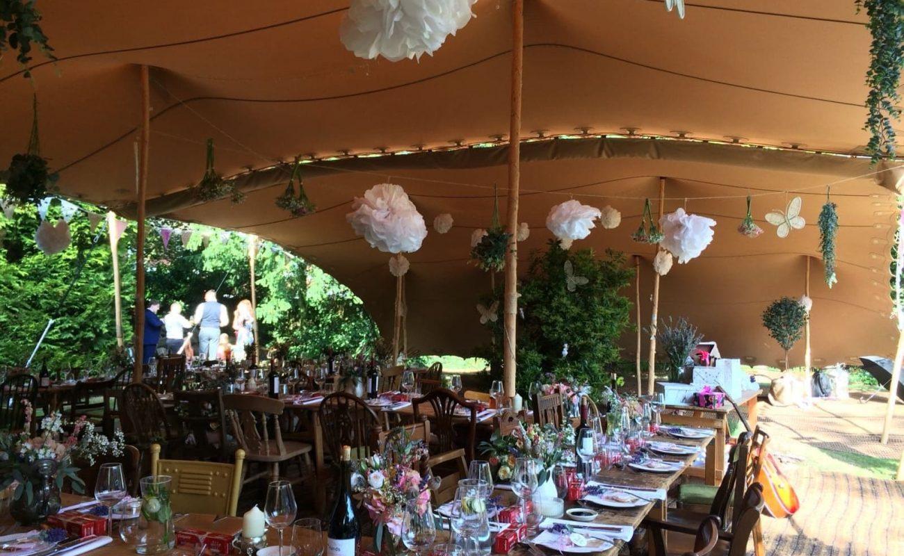 Rustic Wedding Dynamic Stretch Tents